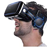 VR Headset,Virtual Reality Headset,3D Glasses for Movies, Video,Games - VirtuReality Glasses VR Goggles for iPhone, Android and Other Phones