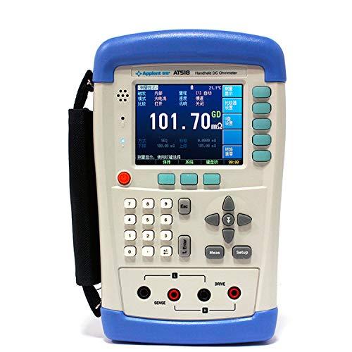 Preisvergleich Produktbild Tragbares Hand-Digtial-Gleichstrom-Widerstands-...  Widerstandsmesser AT518 Multimeter Digital Tester