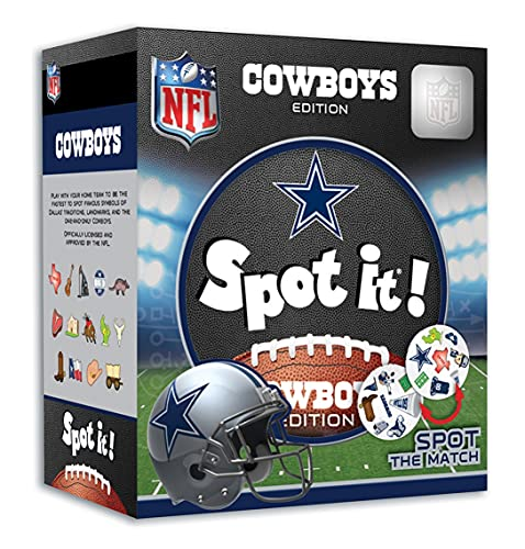 MasterPieces NFL Spot It! Dallas Cowboys Edition