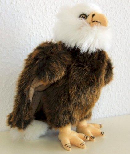 Weißkopfseeadler Adler 26 cm Schmusetier Plueschtier Kuscheltier EAGLE