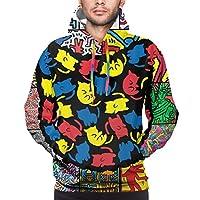 パーカー トレーナー Keith Haring キース・ヘリング メンズ フード付き お洒落 上着 スウェット アウトドア プルオーバー スタイリッシュ 3dデザイン