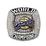 FGRGH Lebron James - Anillos de coleccionista de Cleveland Cavaliers de baloncesto personalizados réplica de anillos de diamante para hombres, souvenirs, versión de rata