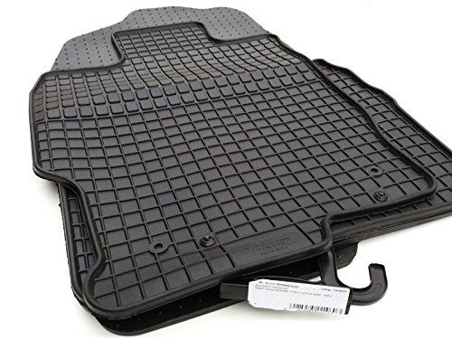 Gummimatten 6 GH (Set, 4-teilig) Passform Fußmatten Allwetter, erhöhter Rand