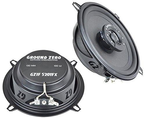 Mitsubishi Colt Z30 (04-12) Ground Zero Lautsprecher Boxen 130mm Koax Vordere oder Hintere Türen