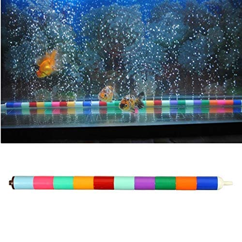 Terrarum Aquarium Landscaping Kleur Bar Strip Zand Air Stone Fish Tank Bubble Diffuser Strip Buis Zuurstof Pomp Decoratie