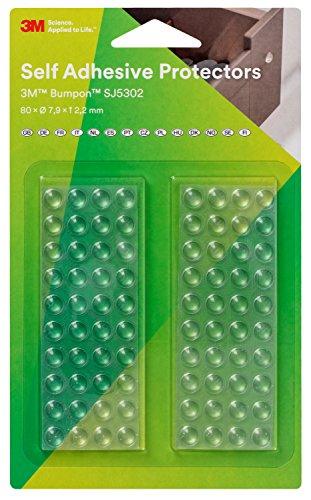 3M SJ5302T BL Bumpon Elastikpuffer Mini-Pack