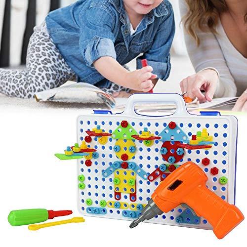 240 stks Moer Speelgoed, Kinderen Puzzel Speelgoed DIY Boor Moer Bouwstenen Set Educatief Speelgoed