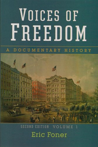 Voices of Freedom: A Documentary History, Vol. 1, 2nd Edition