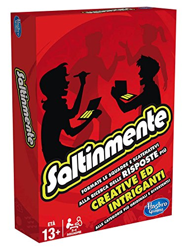 Hasbro Gaming Scattergories, Fragespiel (A5226105), eventuell Nicht in Deutscher Sprache Italienische Version