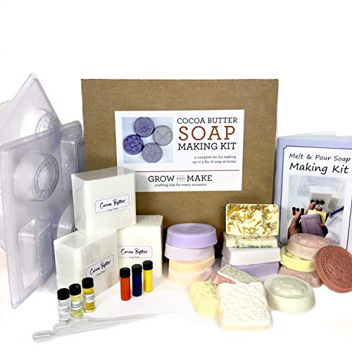 DIY Cocoa Butter Soap Making Kit - Learn How to...