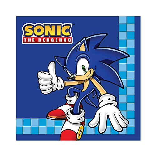Find Discount BirthdayExpress Sonic The Hedgehog Birthday Party Supplies 48-Count 4.5 Beverage Pape...