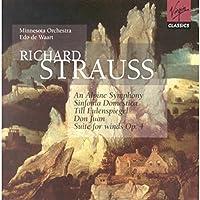 An Alpine Symphony / Sinfonia Domestica / Till Eulenspiegel / Don Juan / Suite for Winds, Op. 4 by R. Strauss