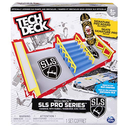 TECH DECK – SLS Pro Series Skate Park - Handrail with...