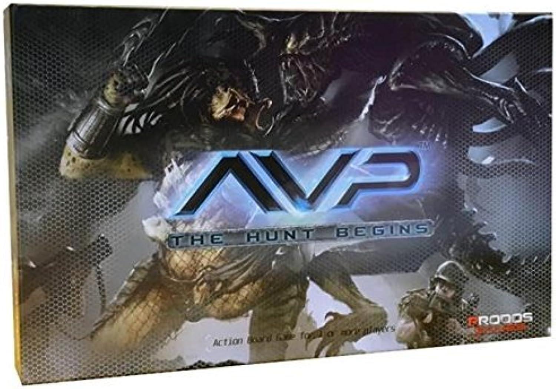 venderse como panqueques Aliens AVP The The The Hunt Begins Prodos Miniatures Juego by Aliens  buena reputación