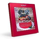 mydays Erlebnis-Gutschein 'Happy Birthday' | 1 Person, 150 Erlebnisse, 870 Orte | Geburtstagsgeschenk für Mann und Frau