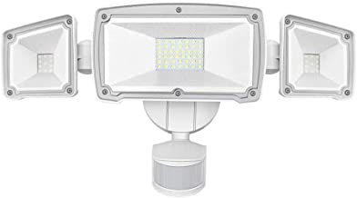 LED Security Lights, AUSPICE 2019 Upgraded Super Bright Flood Light Motion Sensor Light with 3 Adjustable Heads, 4000LM, 42W, IP65 Waterproof for Garage, Patio, Garden, Porch, Yard