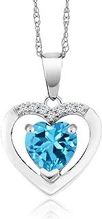 Best diamond necklace one stone Reviews
