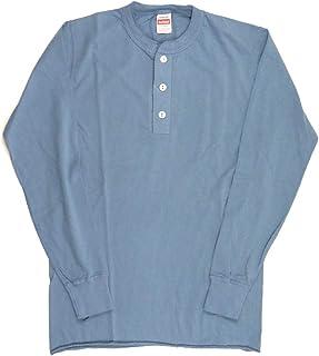 (ヘルスニット) Healthknit ヘンリー ネック ロングスリーブ Tシャツ カットソー メンズ レディース 906L