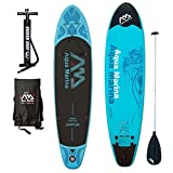 Inflatable SUP Stand Up Paddle Boards Kit | Board, Pump, Bag, Paddle (10' 10' Vapor)