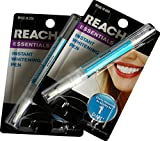 Reach 2 Pack - Essentials Instant Teeth ning Pen White 0.14 Ounce (Pack of 2)
