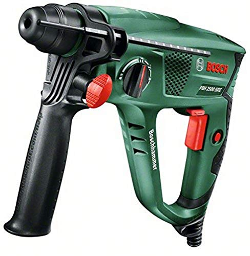 Perforateur Bosch 'Universal' PBH 2500 SRE avec coffret (mandrin automatique + set de 6 forets SDS-plus) 0603344402