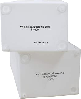 Class A Customs   RV Fresh and Gray Water Tank   Combo Pack (40 Gallon & 46 Gallon)   RV Water Holding Tanks