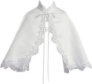 white christening capes