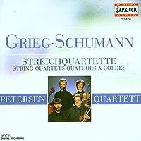 Grieg String Quartets; Schumann Quartet Op. 41/1 / Peterson Quartet