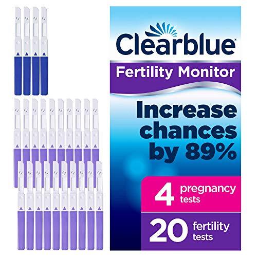 Clearblue 20recambio pruebas fertilidad 4pruebas