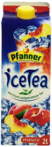 Pfanner Eistee Pfirsich, 6 x 2 l Packung