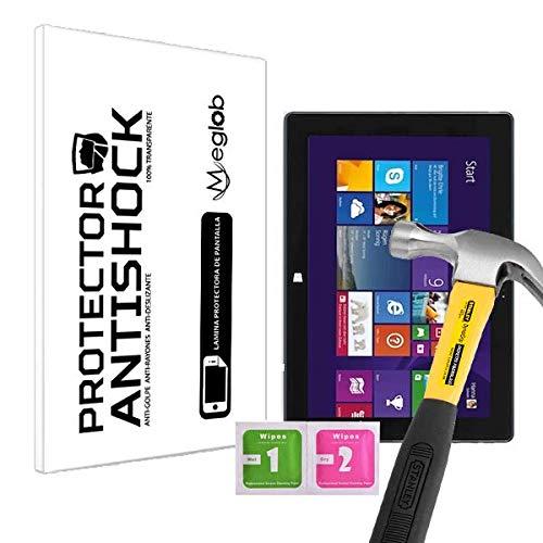 Displayschutzfolie Anti-Shock Kratzfest Bruchsicher Kompatibel mit Tablet Terra Pad 1060