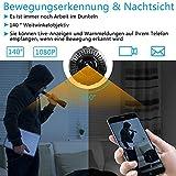 Zoom IMG-2 tangmi mini telecamera wifi hd