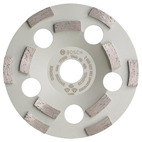 Bosch Professional Diamanttopfscheibe (für Beton, Durchmesser: 125 mm, Zubehör für Betonschleifer)