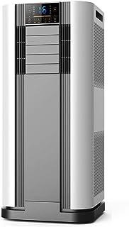 KCBYSS Aire Acondicionado Móvil, Enfriador de Aire Portátil 2600W / 9000BTU, Ventilador, Función de Deshumidificación y Calefacción, con Kit de Ventana y Manguera de Escape