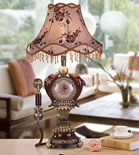 GUT UND GUT | Europäische antike Stehlampe antikes Telefon retro Nachttischlampe Wohnzimmer Schlafzimmer der Stehlampe