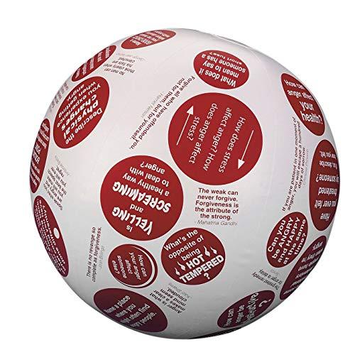 S&S Worldwide 17514 Toss 'n Talk-About Anger Management Ball