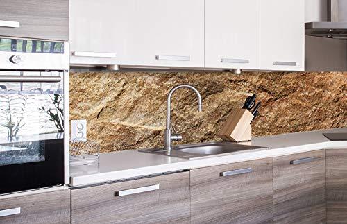 DIMEX LINE Küchenrückwand Folie selbstklebend MARMOR   Klebefolie - Dekofolie - Spritzschutz für Küche   Premium QUALITÄT - Made in EU   260 cm x 60 cm