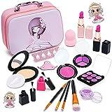 Pickwoo Kinderschminke Set Mädchen , Pretend Play Makeup Toy Makeup Set Kinderschminke Kosmetik...