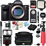 Sony a7R III 42.4MP Full-frame Mirrorless Interchangeable Lens Camera (Body Only) Spectacular 42.4MP Full-Frame Resolution | Continuous Shooting at up to 10 fps with AF/AE tracking | High Resolution 4K Movie Shooting | ISO 100-32000 (upper limit expa...