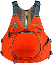 Astral, Sturgeon Life Jacket PFD for Kayak Fishing, Recreation and Touring, Burnt Orange, M/L