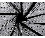 1m Negro Elástico Tule Pad Con Lunares, Tul, Organza Y Sat�