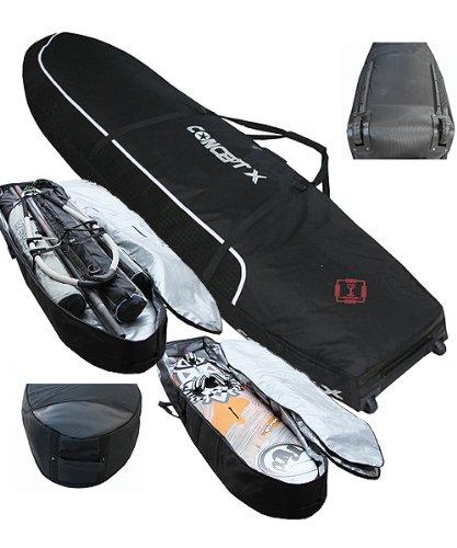 CONCEPT X Doppel Boardbag GLOBE PIPE PRO XX 200 cm x 60