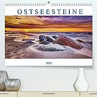 Ostseesteine (Premium, hochwertiger DIN A2 Wandkalender 2022, Kunstdruck in Hochglanz): Findlinge im Wasser und Sonnenuntergaenge an der Ostsee (Monatskalender, 14 Seiten )