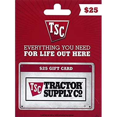 Tractor Supply Company Gift Card $25
