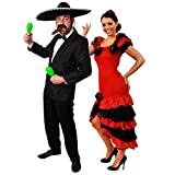 Déguisement accessoires pour couple adulte style Mexicain avec pour l'Homme (Large)...