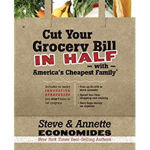 Customer reviews Cut Your Grocery Bill in Half with America's Cheapest Family Includes So Many Innovative Strategies You Won't Have to Cut Coupons:Viralbuzz
