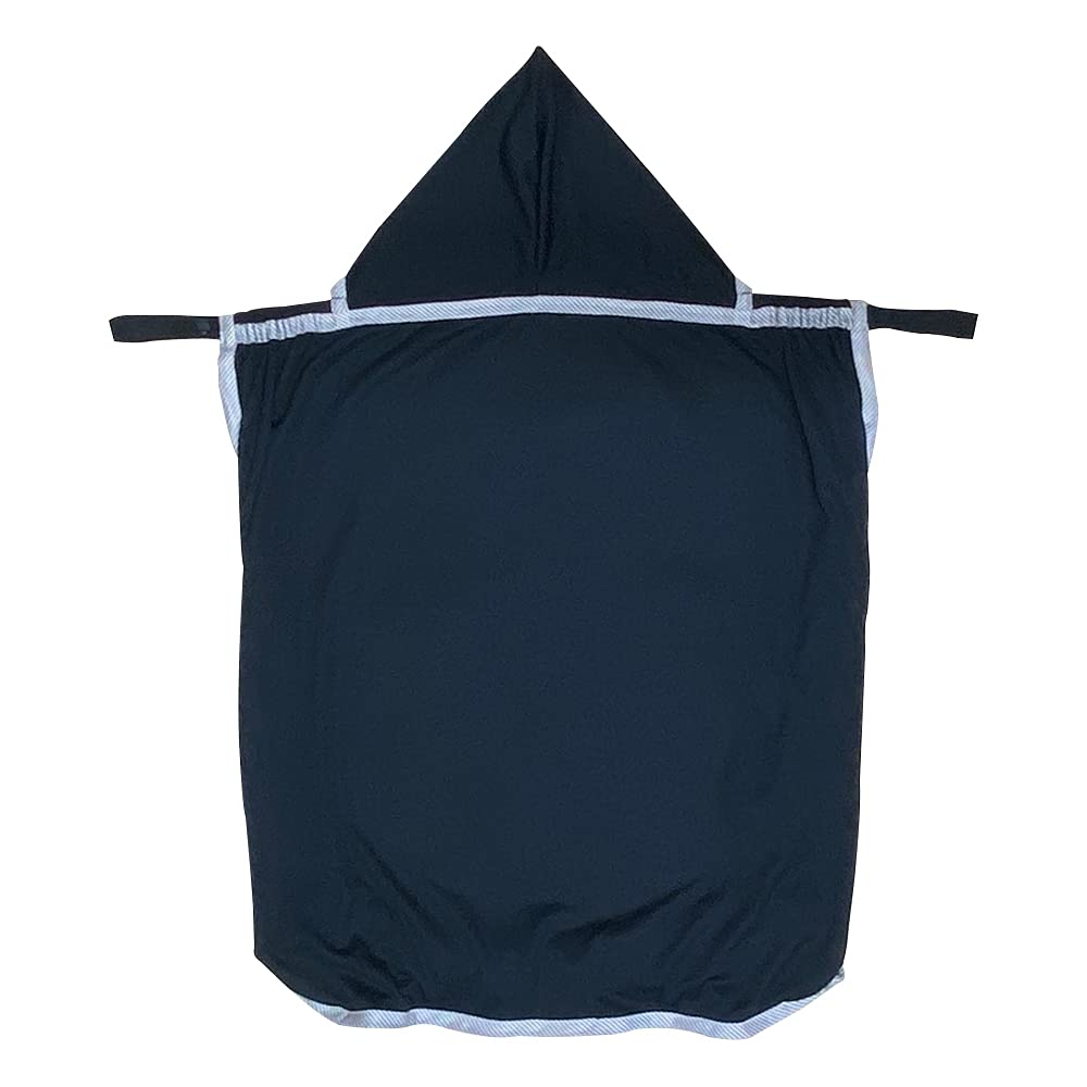 RoSK Sun Shade for Strollers Sun Cover for Baby, UV Block Cape for Stroller,car Seat and Baby Carrier (Navy)