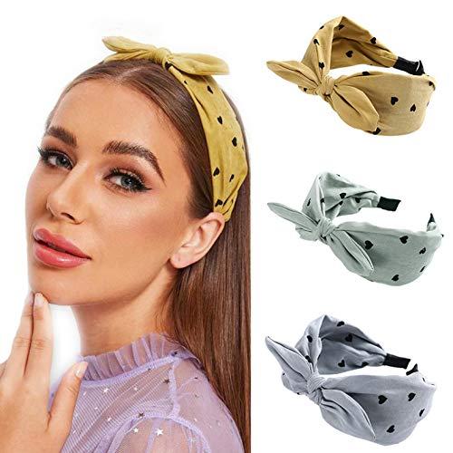 Mignon Noeud Lapin Oreille Bandeau Pour Les Femmes Large Boucle De Cheveux Lunette Chapeaux Filles Cheveux Accessoires 4pcs