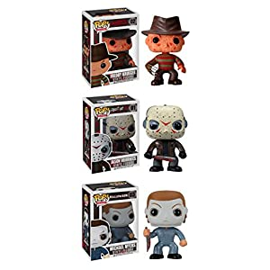 Funko Horror Classics POP Movies Collectors Set: Freddy Krueger, Jason Voorhees, Michael Myers Action Figure - 51xOsCStqEL - Funko Horror Classics POP Movies Collectors Set: Freddy Krueger, Jason Voorhees, Michael Myers Action Figure