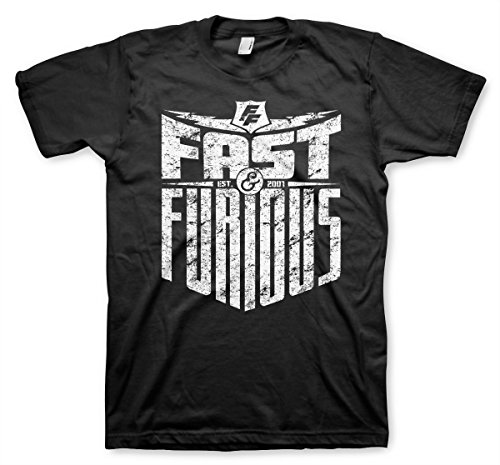 Fast & Furious - EST. 2007 Official T-Shirt (Black), Small